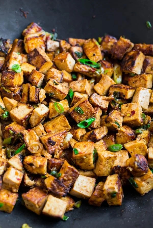 Tofu Stir Fry. Easy to customize, vegan, and delicious!