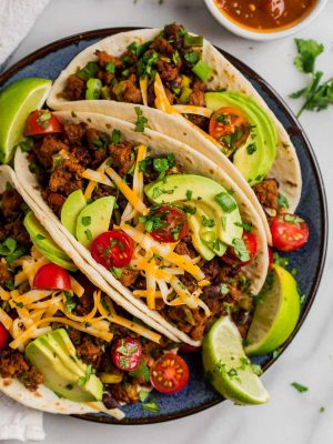 Breakfast tacos Texas style! Delicious, healthy, and ready in 20 minutes!