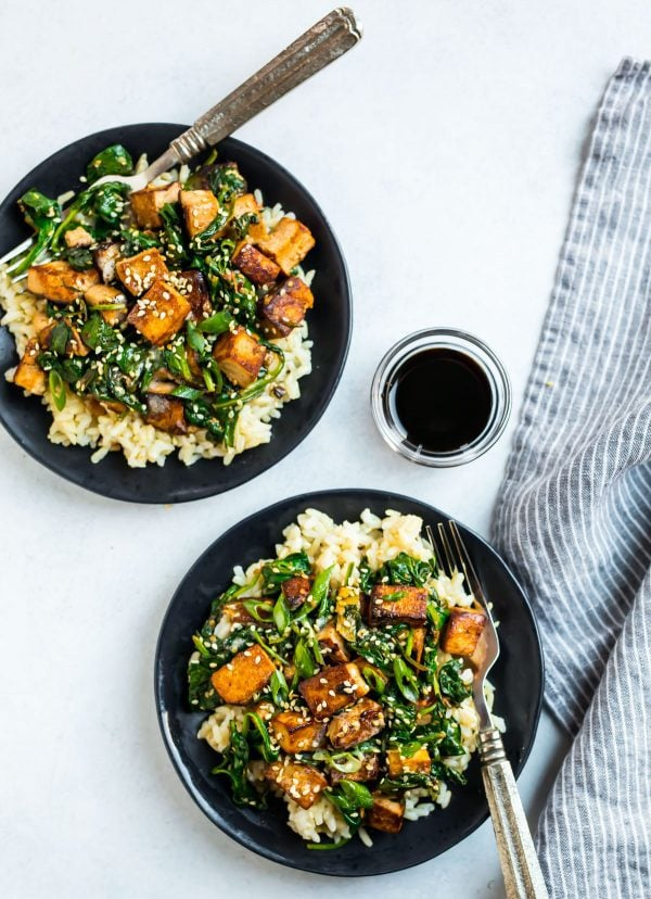 Easy Tofu Stir Fry. A quick, protein-packed meal that's ready in less than 30 minutes.