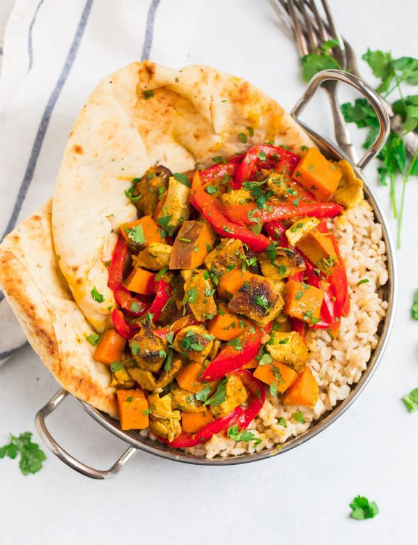 Slow Cooker Chicken Curry Healthy Easy Crockpot Chicken Curry