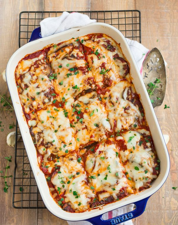 Eggplant Lasagna Delicious Low Carb Lasagna Without Noodles