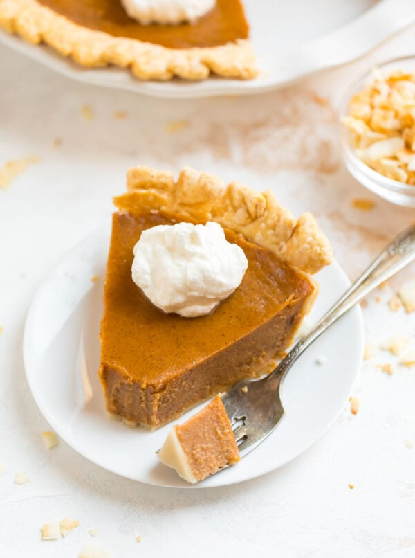 One of the BEST old fashioned sweet potato pie recipes served on a plate