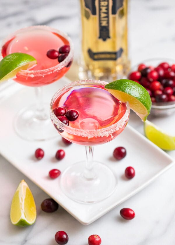 Cranberry St Germain Cocktail
