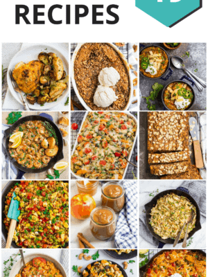 The Best Healthy Recipes for Dinner, Dessert, Breakfast and more