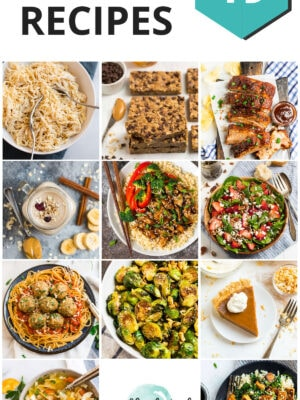 A collection of popular healthy recipes, including slow cooker, chicken, soups, and more