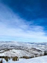 Deer Valley Wasatch Mountains
