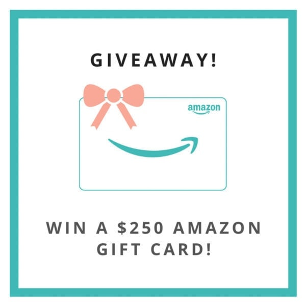 Giveaway for an Amazon gift card worth $ 250