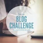 Take Blog Challenge