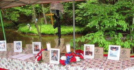 Honorees at Patriots Cove