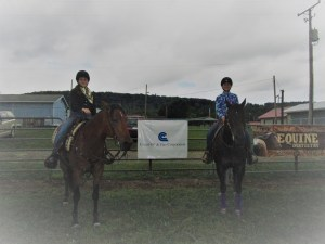 Horse show friends