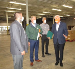 Weinberg Food Bank temporary facility helps end hunger in PA