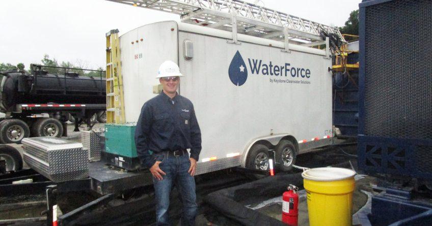 Dan at WaterForce