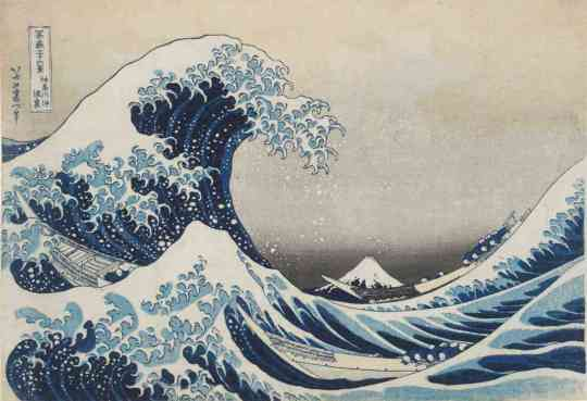 Hokusai's great wave: a lesson in persistence