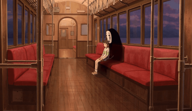 Hayao Miyazaki's 'Spirited Away' – Train Travel Scene
