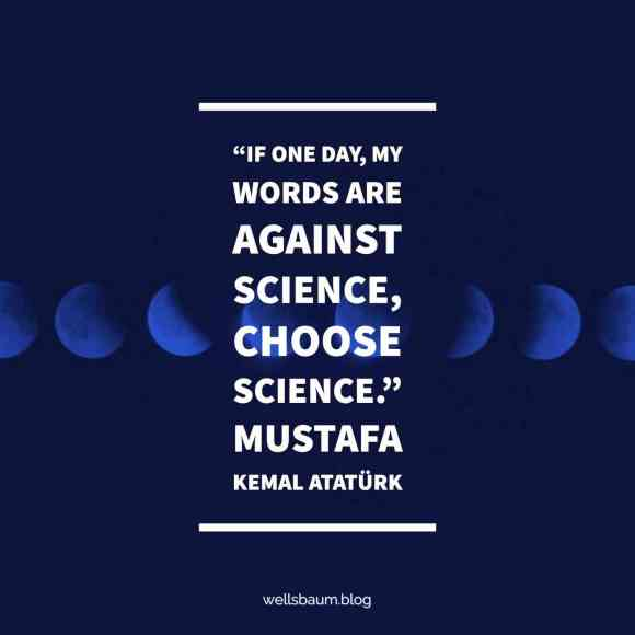 Mustafa Kemal Atatürk_science