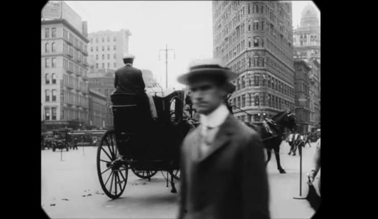 A trip through New York City, 1911