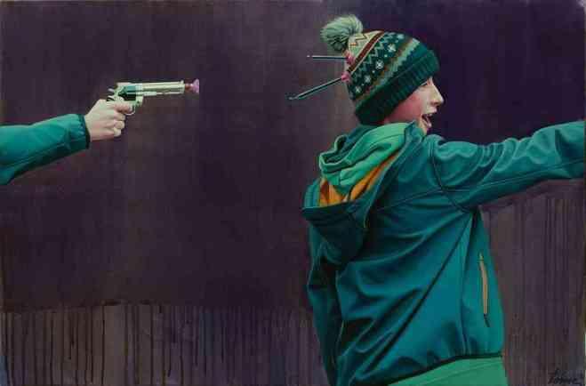 art, graffiti, lonac, croatia, street art