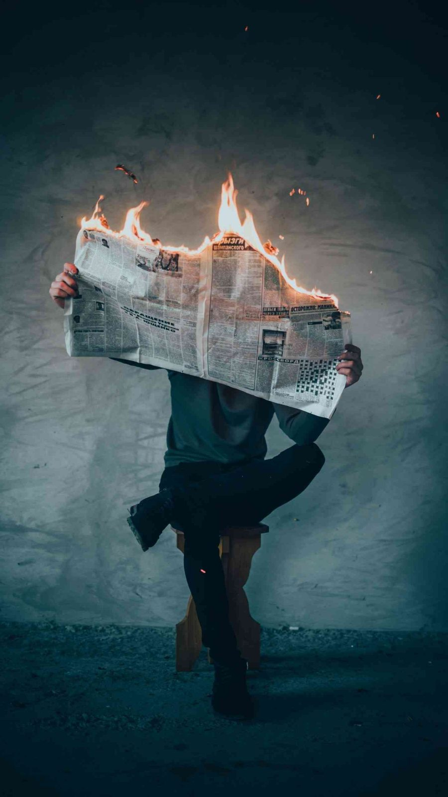 Coping with the cesspool of news