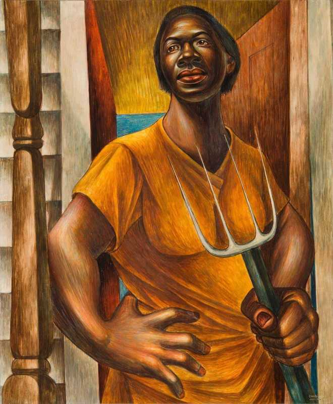 """""""Paint is the only weapon I have with which to fight what I resent,"""" Charles White"""