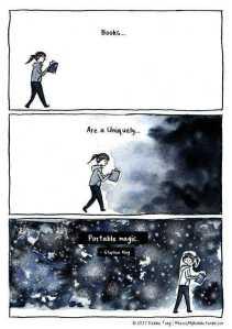 Books are portable magic