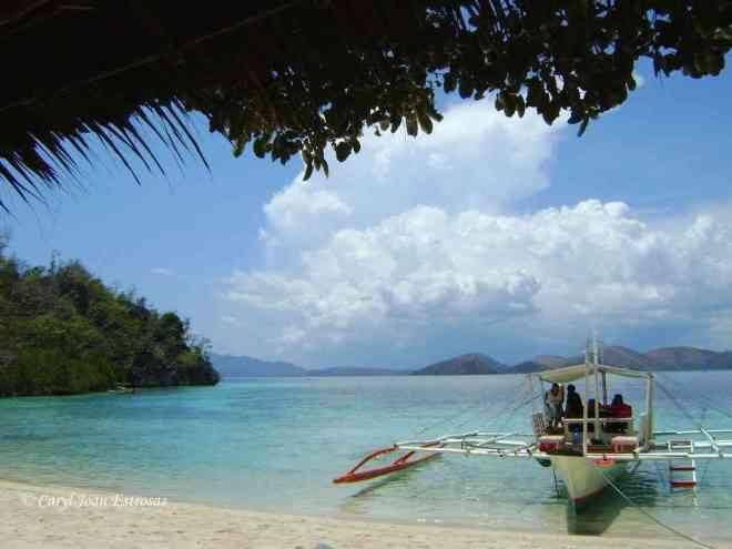 An image of Coron Palawan, the most beautiful island in the world