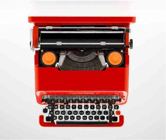 The Olivetti Valentine typewriter