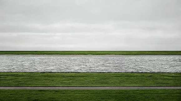 The vast but empty spaces of Andreas Gursky
