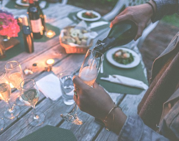 5 tips to balance letting loose and staying well. Party responsibly.