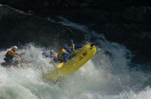 Rafting in Wells Gray!