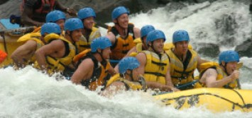 Whitewater rafting Wells Gray Park Clearwater BC