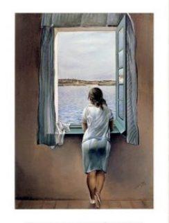 Dali Girl At A Window