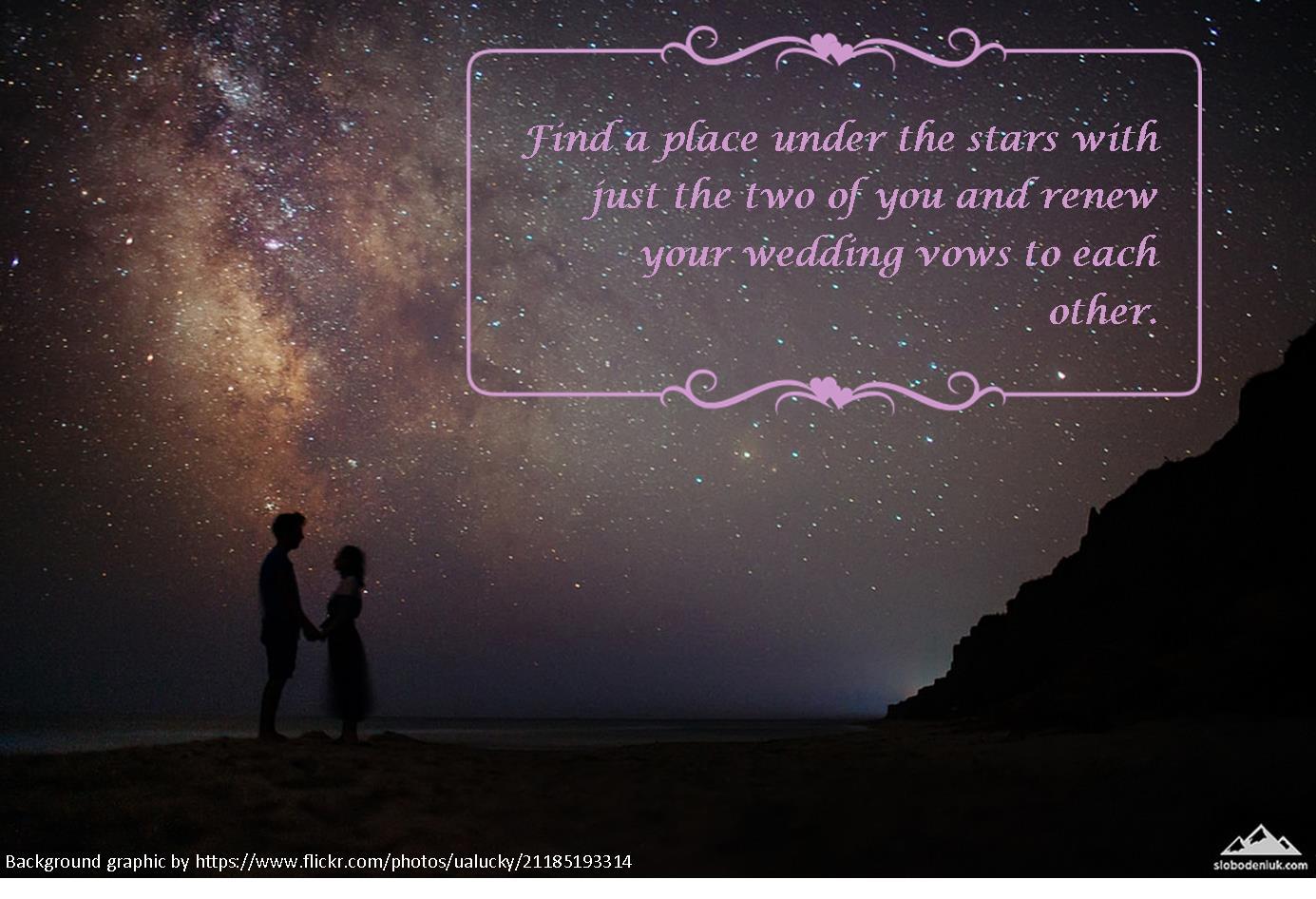 001 Renew vows