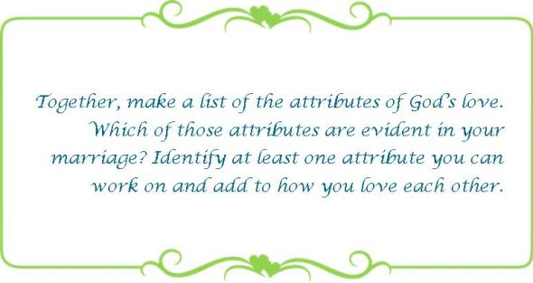 010 attributes of Gods love