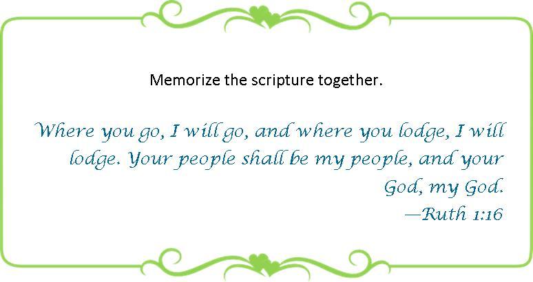 021 memorize Ruth 1-16