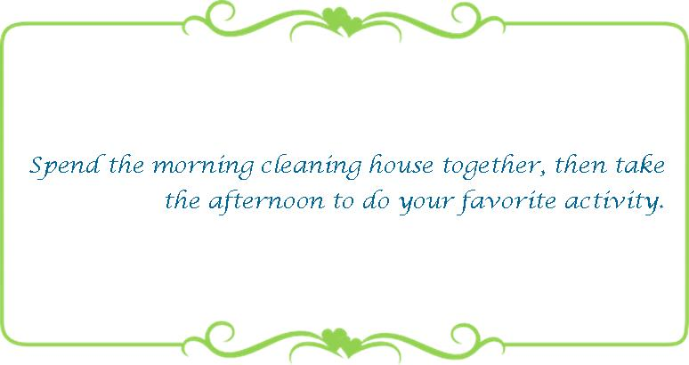 030 cleaning house