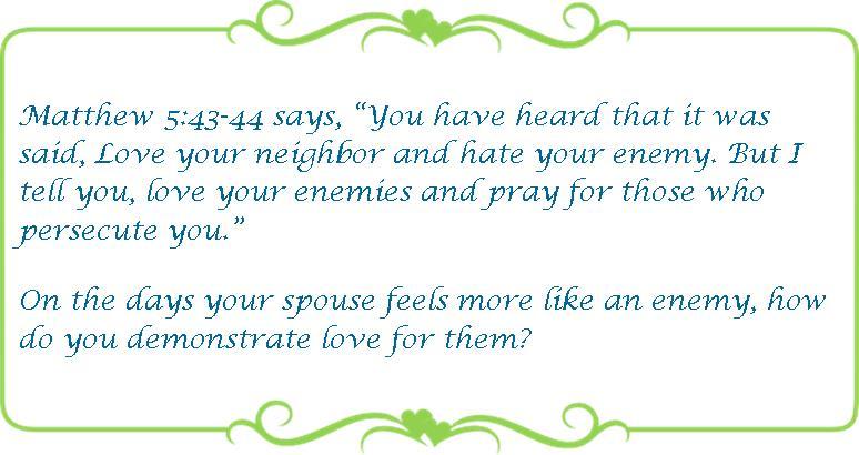 034 love your enemies