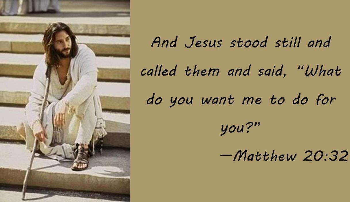 Matthew 20-32