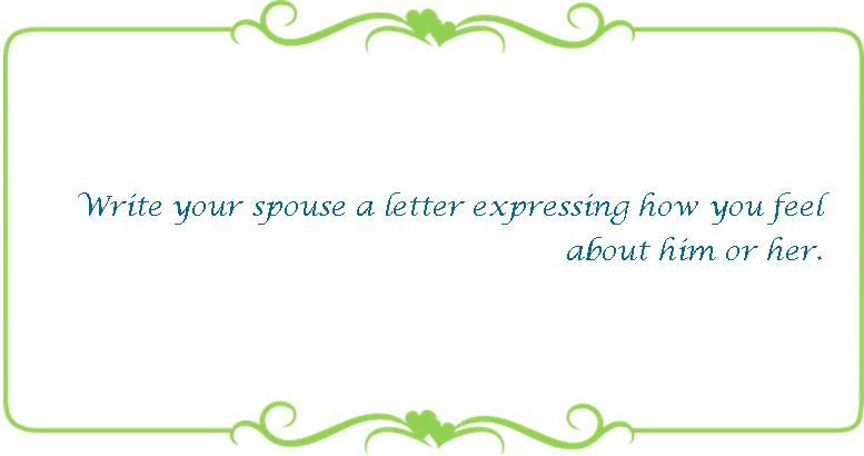 049 write your spouse a letter