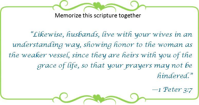 066 Memorize 1 Peter 3 7
