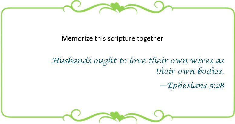 073 Memorize Eph 5 28