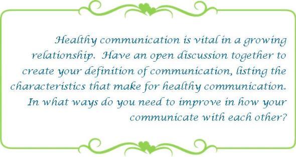074 healthy communication