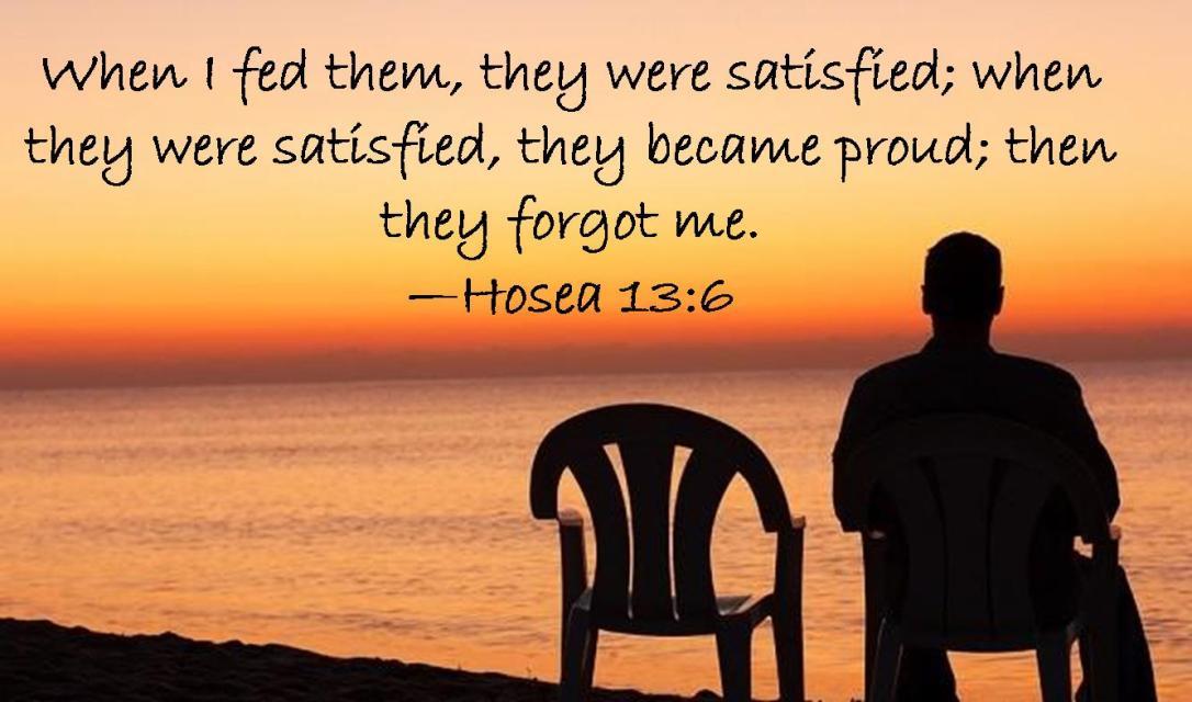 Hosea 13 6