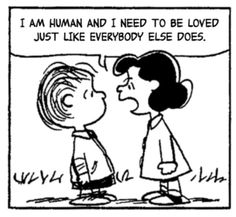 Lucy wants to be loved