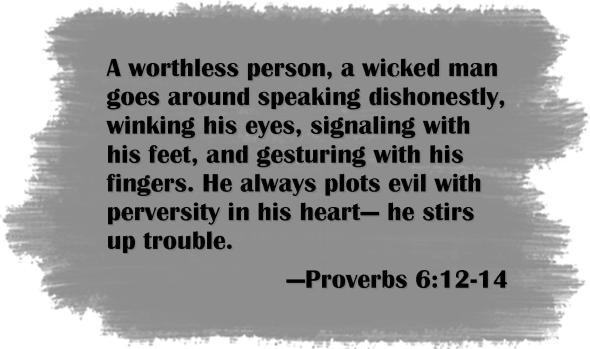 proverbs 6 12-14