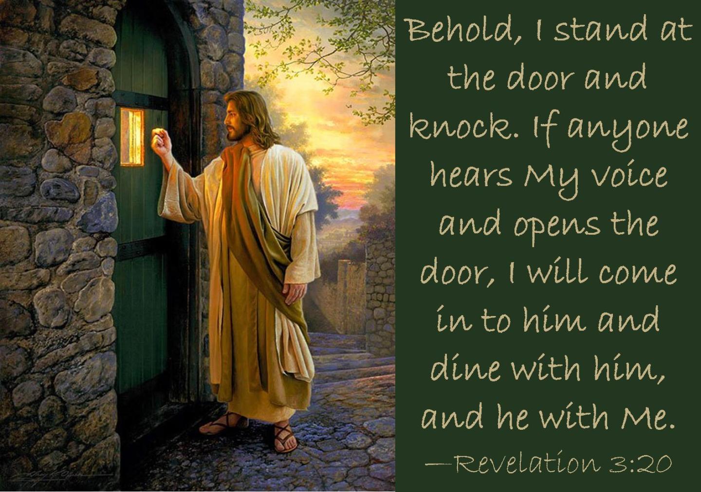 revelation 3 20