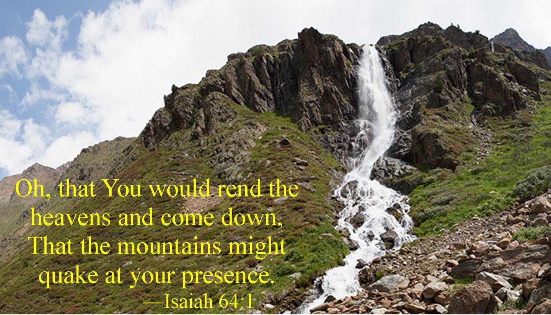 Isaiah 64 1