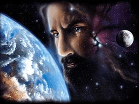 Jesus weeps over earth