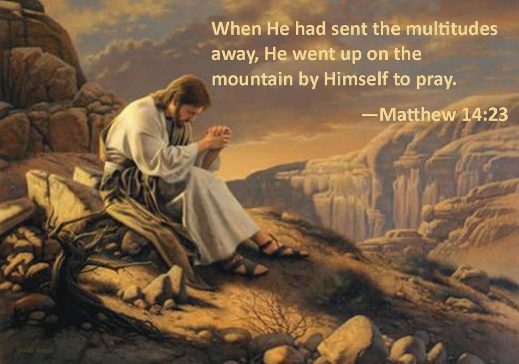 Matthew 14 23