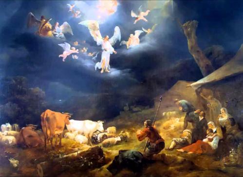 angels at Christmas