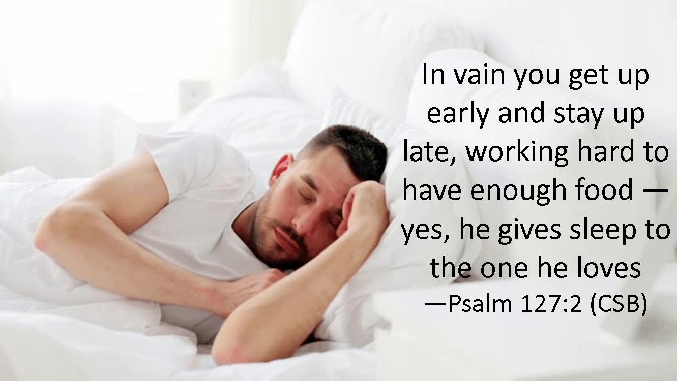 Psalm 127 2